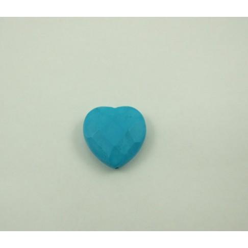 5-0020 Howlito pakabukas širdelė, 25mm