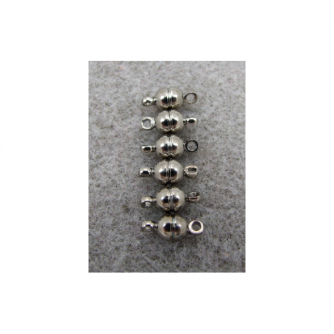 JUOD-MSM1 Magnetinis užsegimas, juodas, 5x11mm
