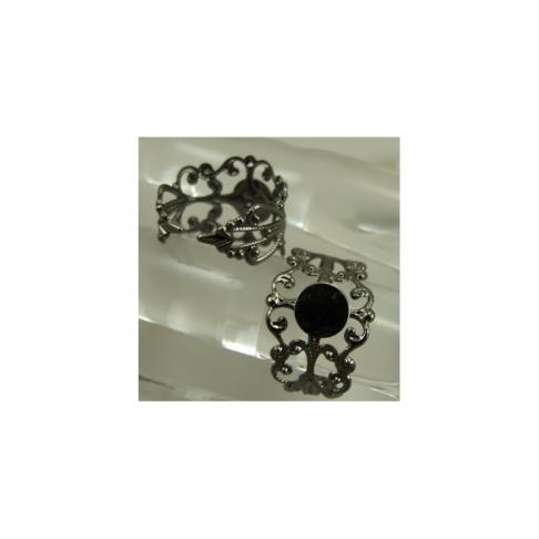 JUOD-ZS1193 Žiedas su 8mm plokštele, reguliuojasi