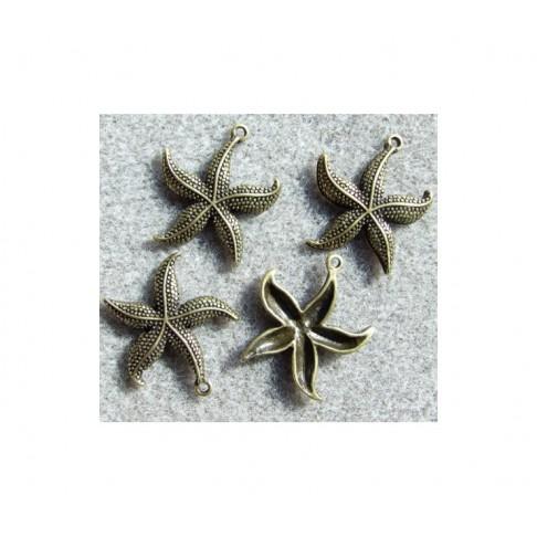 ZAL-47422 Pakabukas jūros žvaigždė, 27x23mm