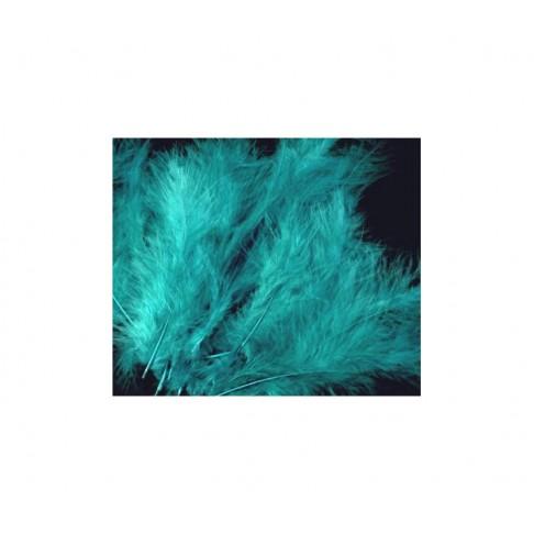 PLUNKS-TR10 Stručio plunksna-pūkas, 10-14cm, už 4-5 vnt., turkio sp.