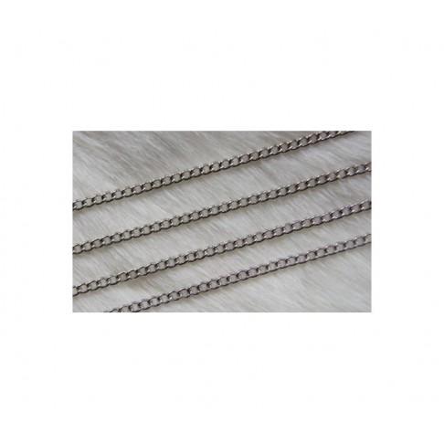 SPL-GR999 Grandinėlė platinos sp.,3x2.5mm, už 50 cm