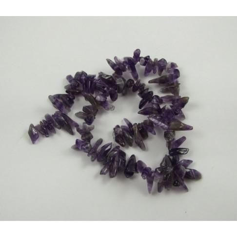 5-02318 Ametistas, nuo 9 iki 27mm, kaina už 1 giją (46cm.)