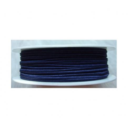 """Sutažo juostelė-0913 """"Pega"""" 3mm, viskozė, už 50cm, tamsi mėlyna"""