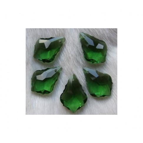KR-PKB679 Kristalo pakabukas 22x15, žalias