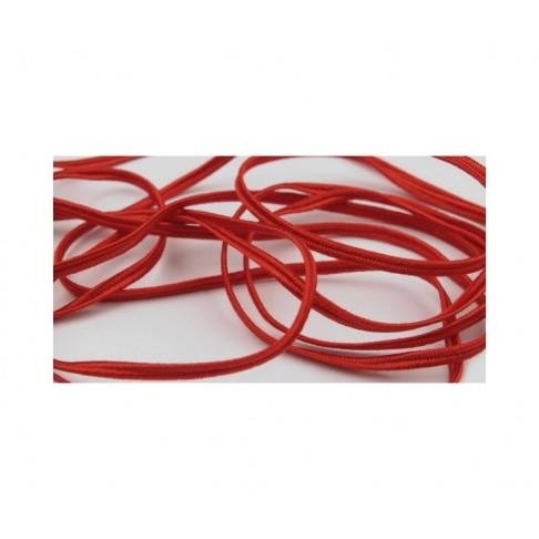 """Sutažo juostelė-7501 Pega"""" 3mm, viskozė, už 50cm, raudona"""