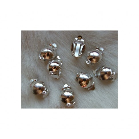 SID-123824 Klipsai auskarams, 12x18mm, už porą, su kilpute
