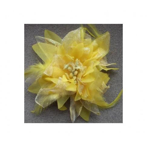 Gėlė-geltona, apie 12 cm