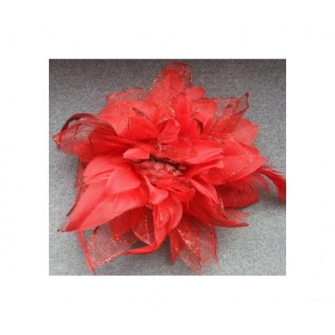 Gėlė-raudona, apie 12 cm