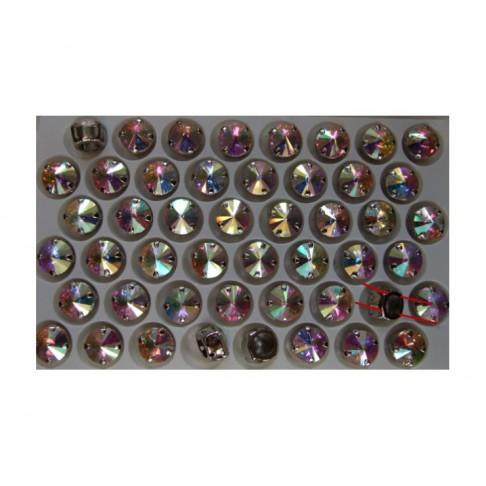 K-25817 Intarpas-detalė, 10mm, kristalo skaidri AB