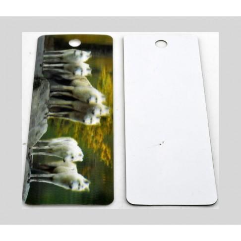 """K-14262   3D skirtukas knygai, 15x5 cm., """" Šuniukai"""""""