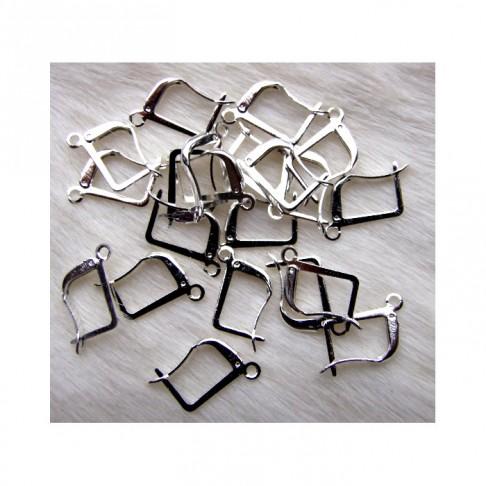 SID-7221  Kabliukai auskarams, uždari, 18mm