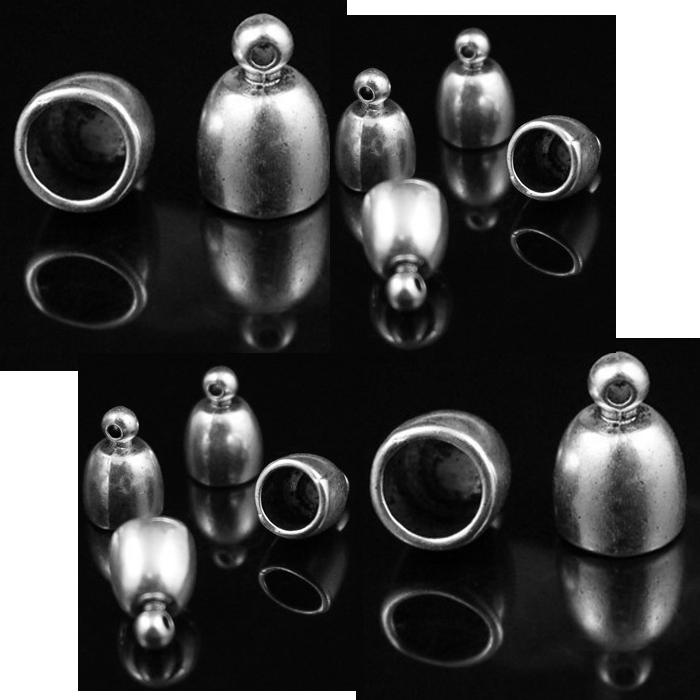 7-12861  Kepurėlė-užbaigimo detalė, viduriukas 6mm