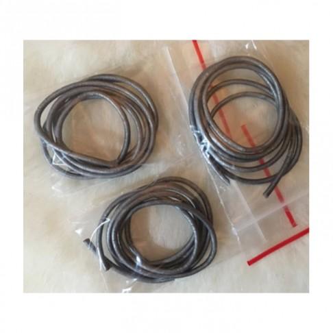 OD-VIR6214 Nat., odos virvutė, apie 2mm, už 60 cm, PILKA SID., sp.