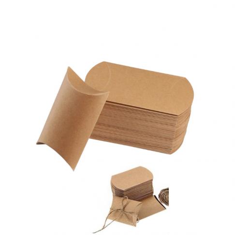 PD-R4992  Pakavimo dėžutė, sulankstytas dydis 9x6.5x2.5cm, natūrali ruda.