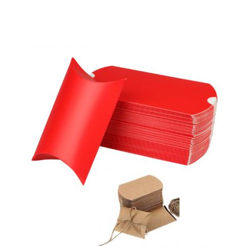 PD-R4991  Pakavimo dėžutė, sulankstytas dydis 9x6.5x2.5cm, RAUDONA