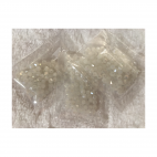 KR-KA142 Kristalo karoiukai, bikone, 4mm, apie 100 vnt., MATINIAI su blizgesiu