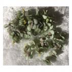 G-VT6701  Dirbtinės gėlytės, apie 2.5cm, 50 vnt., VINTAŽ MELSVA