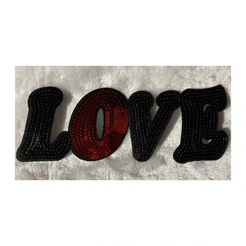 """APL-E4474 Aplikacija """"Love"""", 22x8cm"""