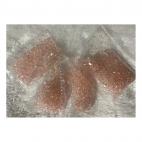 KR-KA150 kristalo karoliukai, 4mm, apie 100, RAUSVI