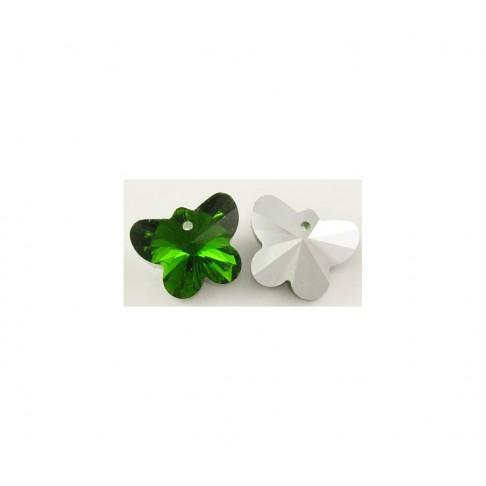 KR-S741 Drugelis, žalias, 15mm