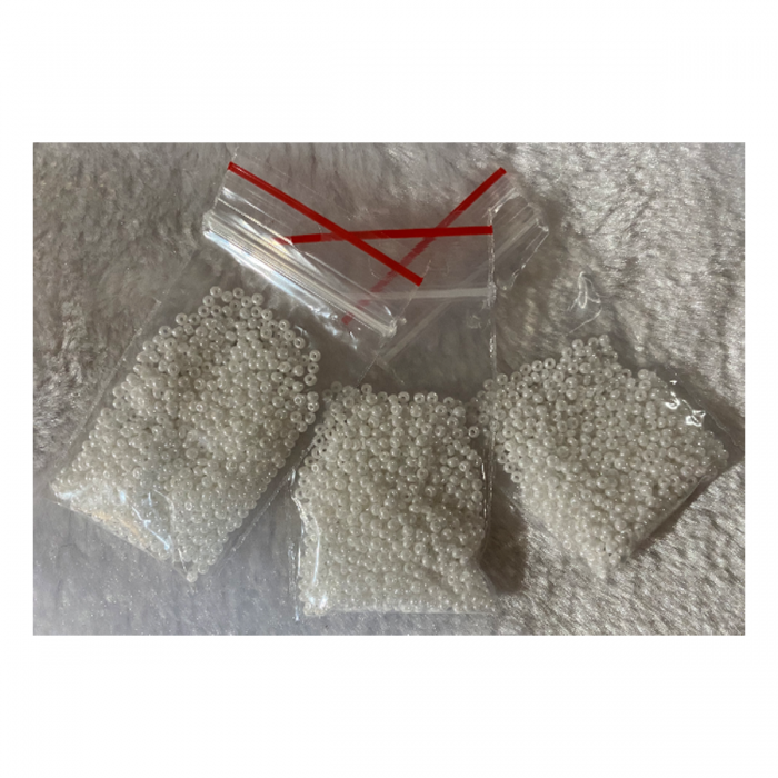 BIS-46102-10 Preciosia biseris, 2.3 mm, apie 10 gr., BALTAS