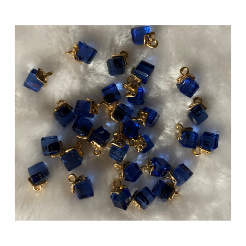 AUK-KR3267 Kristalo pakabukas, apie 12mm, 1 vnt., spalva MELSVAS