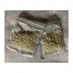 PER-BS788  Perliukų MIX, BE SKYLUTĖS , baltai - kreminiai, (nuotraukoje)