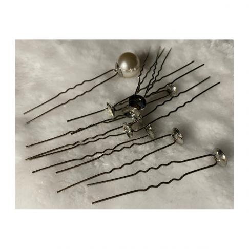 RUOS-100  Ruošinys plaukų segtukui, taurelė 10mm, 1vnt.