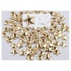 DK-LS8733  Dekoravimui, žvaidždutė, aukso sp, 1vnt.
