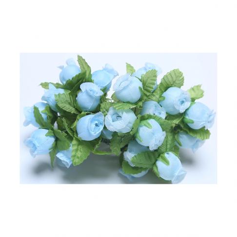 G-R400  Mini rožytės, 12vnt., ŽYDROS