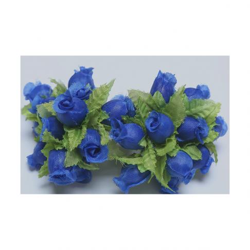 G-R403  Mini rožytės, 12vnt., MĖLYNOS