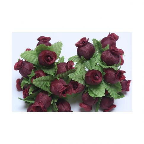 G-R404  Mini rožytės, 12vnt., VYNO- BORDO sp.