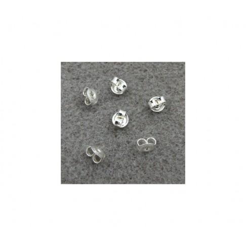 SID-92553 Spaustukas auskarams, 5mm, sid.,
