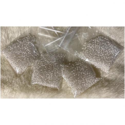 BIS-10-38102  Preciosia biseris, 2.3 mm, apie 10 gr., BALTI