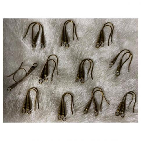 ZAL-AS02033  Kabliukai auskarams, už porą, 20x8mm