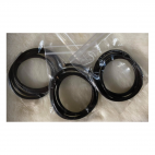 OD-3M101 Natūralios odos virvutė, 3mm, 60cm, Tamsiai RUDA