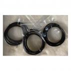 OD-3M103 Natūralios odos virvutė, 3mm, 60cm,  JUODA sp.