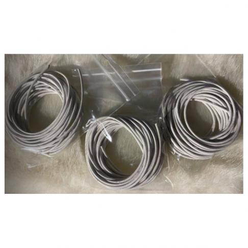 VE-15010 Nat., odos virvutė, 1.5mm, 5metrai, BALTA