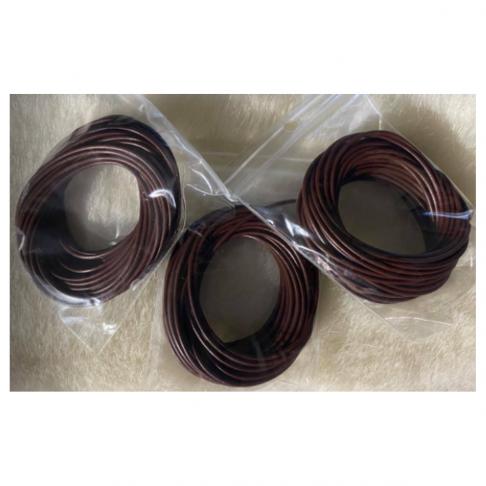 VE-15015 Nat., odos virvutė, 1.5mm, 5metrai, RUDA