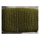 V-S4173  Sukta satino virvutė, 4mm, ALYVUOGIŲ-ŽALIA, kaina 1 beginio metro.