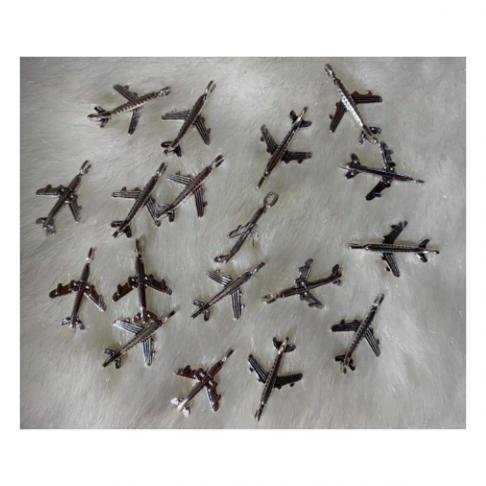 """7-08010  Pakabukas """"Lėktuvas"""", 24x14mm, 1vnt."""