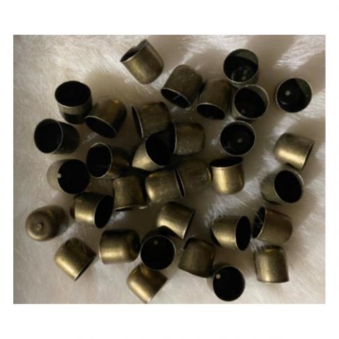 ZAL-10961   Kepurėlė-užbaigimo detalė, 10mm, žalvario sp., 1vnt.