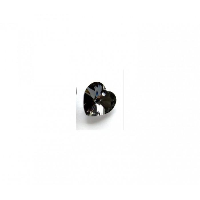SW-62831 Širdelė, tamsaus deimanto sp., 14mm