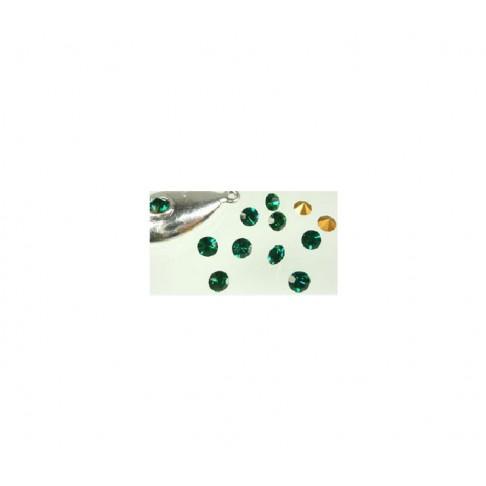 AKUTĖ-5871 Emerald žalia, apie 5mm
