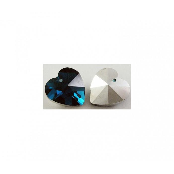 KR-S745 Širdele, Indigo-mėlyna, 14mm