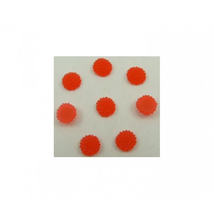 GEL-E426 Gėlytė kabošonas, raudona, 9.5mm