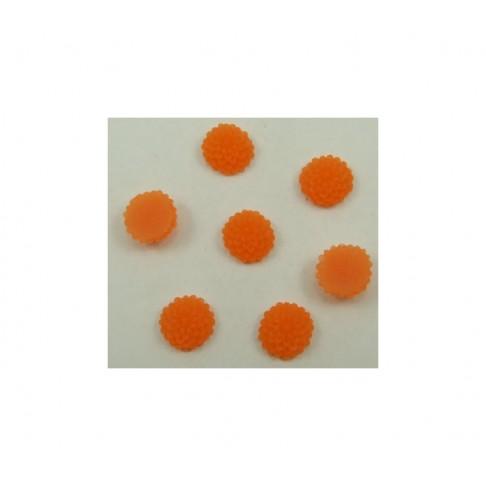 GEL-E423 Gėlytė kabošonas, oranžinė 9.5mm