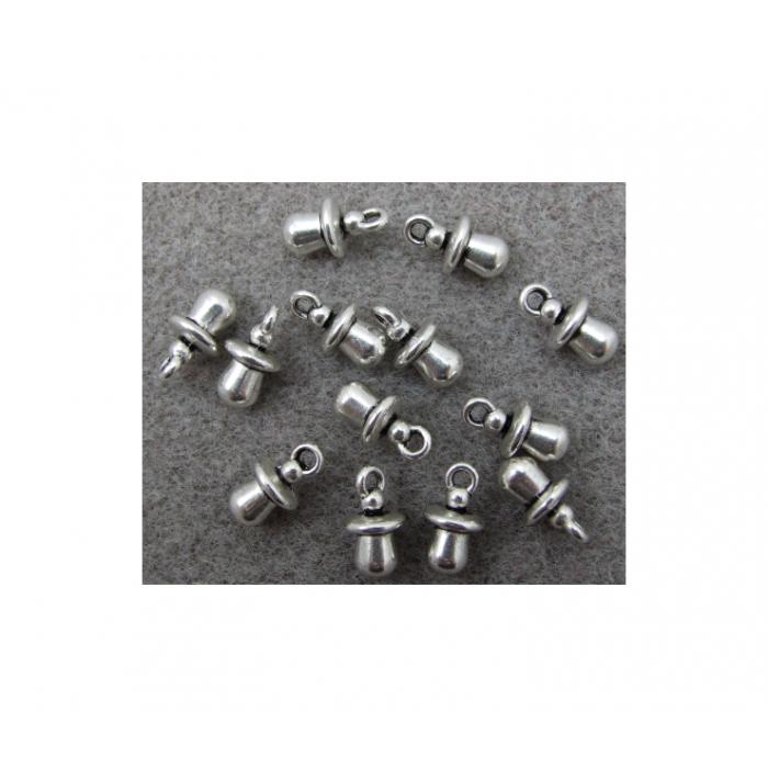 SID-9037 Pakabukas žindukas, 12.5x7mm