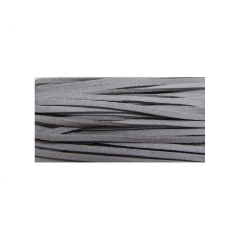 JUOSTELĖ-1 Žomša, 3mm, pilka, kaina už 25cm
